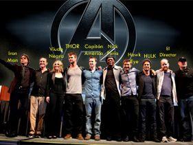 El reparto de Los Vengadores al completo