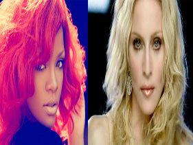 Rihanna colabora en el nuevo disco de Madonna