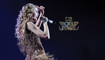 MTV Worldstage. Taylor Swift